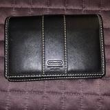 Coach Bags   Euc Coach Black Leather Wallet   Color: Black   Size: Os