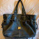 Dooney & Bourke Bags   Dooney And Bourke Black Leather Shoulder Hobo Bag.   Color: Black   Size: Os