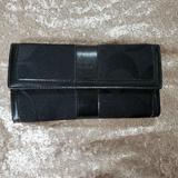 Coach Bags   Coach Trifold Wallet   Color: Black   Size: Os