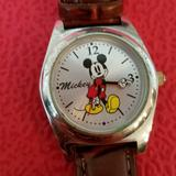 Disney Accessories   Disney Mickey Mouse Watch   Color: Brown/Red   Size: Os