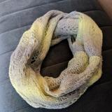 American Eagle Outfitters Accessories   Cozy Scarf   Color: Silver/Yellow   Size: Os
