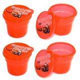 Disney Kitchen | 8 Pk Disney Cars Red Plastic Snack Containerslids | Color: Red | Size: Os