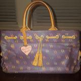 Dooney & Bourke Bags | Dooney And Bourke Small Tote | Color: Purple | Size: Os