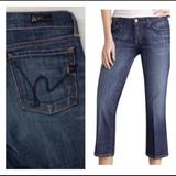 Anthropologie Jeans   Citizens Of Humanity Kelly Stretch Crop Jeans 27   Color: Blue   Size: 27