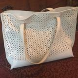 Anthropologie Bags   Beige Anthropologie Tote   Color: Cream   Size: Os