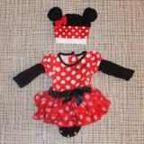 Disney One Pieces   Disney Minnie Mouse Costume With Hat!   Color: Black/Pink   Size: 3mb