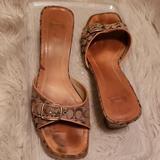 Coach Shoes | Ladies Designer Sandals | Color: Tan | Size: 7.5