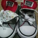 Converse Shoes | Convers Shoes For Infant | Color: Pink/Silver | Size: 9 Infant