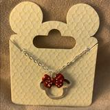 Disney Jewelry | Necklace, Disney | Color: Red/Silver | Size: Os