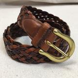Coach Accessories   Coach British Tan Braided Leather Belt Med   Color: Brown   Size: Med