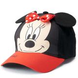 Disney Accessories   Disney Minnie Mouse Cap Authentic Toddler Girl Hat   Color: Black/Red   Size: Osg