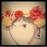 Disney Accessories   Disney Flower Minnie Ears Headband   Color: Orange   Size: Os