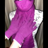 Coach Accessories | Coach Scarf And Glove Set | Color: Pink | Size: Os