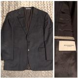 Burberry Suits & Blazers | Burberry Kingston Blazer Paid $800 Size 44r Modern | Color: Red | Size: 44r