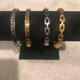 Coach Jewelry | Coach Silver Fashion Bracelet | Color: Silver | Size: Os