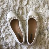 American Eagle Outfitters Shoes | Bundle And Save! White Flats | Color: White | Size: 4.5g