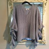 Anthropologie Sweaters | Moth Anthropologie Sweater. Wool Blend. Size Ml | Color: Gray | Size: Ml