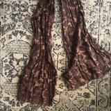 Coach Accessories | Coach Animal Print Scarf 70% Cotton 30% Silk | Color: Brown/Tan | Size: Os