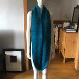 Anthropologie Accessories   Infinity Scarf   Color: Blue   Size: Os