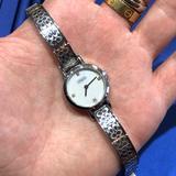 Coach Accessories | Coach Signature Cc Diamond Coach Watch! | Color: Silver/White | Size: Os