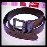 Columbia Accessories   Hp Nwot Columbia Reversible Leather Belt. Size: 42   Color: Brown   Size: 42105