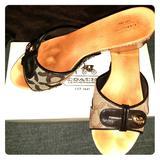 Coach Shoes   Coach Lee Sandals   Color: Brown   Size: 7.5