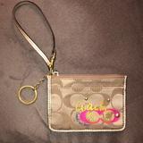 Coach Bags | Coach Wallet Key Chain | Color: Pink/Tan | Size: Os
