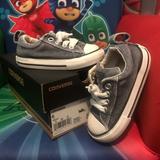 Converse Shoes | Babys Distressed Denim Converse | Color: Blue | Size: 6bb