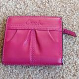 Coach Bags   Leather Coach Wallet   Color: Pink   Size: Os