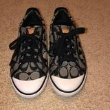 Coach Shoes   Grey And Black Coach Shoes   Color: Black/Gray   Size: 7.5