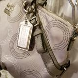 Coach Bags | Coach Madison Op Art | Color: Silver | Size: 13 By 9 Approx