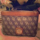 Dooney & Bourke Bags | Dooney Bourke Cosmetic Bag | Color: Tan | Size: Approximately 3x4