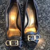 Coach Shoes   Coach Black Peep Toe Pumps   Color: Black   Size: 5.5