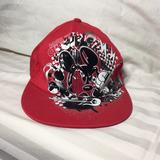 Disney Accessories | Disney Mickey Mouse Hat | Color: Black/Red | Size: Adult