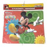 Disney Party Supplies   Disney Junior Mickey Mouse Clubhouse Placemats   Color: Red   Size: Os