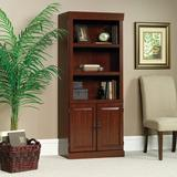 "Sauder Heritage Hills 71.25"" H x 29.8"" W Standard Bookcase Wood in Brown/Red, Size 71.25 H x 29.8 W x 13.0 D in | Wayfair 102792"