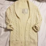American Eagle Outfitters Sweaters   American Eagle Cardigan   Color: Cream   Size: Sp