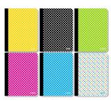 BAZIC Products College Rule 100 Ct. Polka Dot Composition Book, Size 9.75 H x 7.5 W in | Wayfair 5492-48
