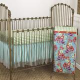 Harriet Bee Desai 3 Piece Crib Bedding Set Cotton in Blue/Green/Red | Wayfair LG3S