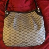 Michael Kors Bags | Authentic Michael Kors Grey Leather Purse | Color: Black/Gray | Size: Os