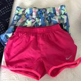 Nike Bottoms | Athletic Girl Shorts Size 6 Old Navy & Nike | Color: Blue/Pink | Size: 6g