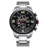NI2336-GHJDgd NIBOSI Military Watches Men Quartz Analog Men Watches Stainless Steel Time Date Clock Men Big Dial Watches