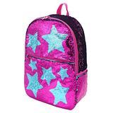 Kids Sequin Backpack for Little Girls Cute Elementary School Book Bag Bookbag Glitter Sparkly Child Travel Back Pack