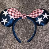 Disney Accessories   All American Girl Ears   Color: Blue/Red   Size: Os
