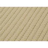 Charlton Home® Glasgow Braided Area Rug Polypropylene in Brown, Size 48.0 H x 48.0 W x 0.5 D in   Wayfair CHLH5377 32438242