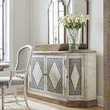 "Hooker Furniture 5750-75900 Saint Germain 72"" Wide Harlequin Sideboard Dining Server from the Boheme"