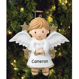 Personalized Planet Men's Ornaments - Boy Angel Personalized Ornament