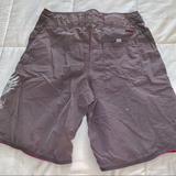 American Eagle Outfitters Swim   American Eagle Swim Trunks   Color: Gray/White   Size: 32