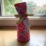 Lilly Pulitzer Kitchen   Lilly Pulitzer Wine Tote   Color: Orange/Pink   Size: Os