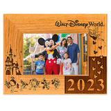 Walt Disney World 2021 Frame by Arribas 4'' x 6'' Personalized